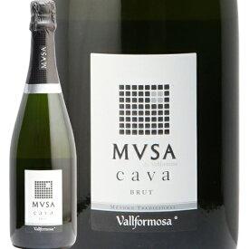 ムッサ カヴァ ブリュットNV ヴァルフォルモサ Mvsa Brut Vallformosa スパークリングワイン スペイン 辛口 カバ あす楽 即日出荷 マルカイコーポレーション