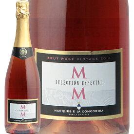 カバ セレクション エスペシャル ロゼ ブルット 2017 マス デ モニストロル Cava Seleccion Especial Rose Brut スパークリングワイン スペイン 辛口 稲葉