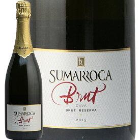 スマロッカ カヴァ ブリュット レゼルバ 2016 SUMARROCA CAVA BRUT RESERVA スパークリングワイン スペイン 辛口 泡 カバ あす楽 即日出荷 飯田