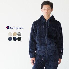【20%OFF】チャンピオン シェルパ フリース ジップ パーカー C3-L615