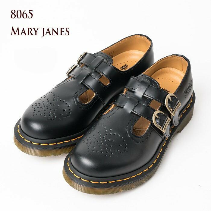 ドクターマーチン 8065 メリージェーン Dr.Martens MARY JANE 12916001 レディース ストラップ シューズ 【送料無料】