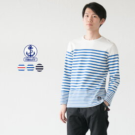 【30%OFF】 フィデリティ ボーダー バスクシャツ NRF13SC 長袖 ナバルタイプ