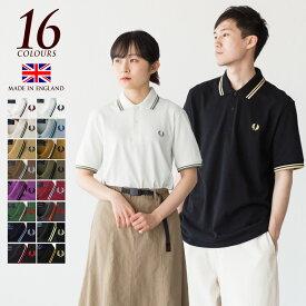 [限定46サイズあり] フレッドペリー ポロシャツ M12/M12N 新色&定番カラー 英国製 メンズ ラインポロ 大きいサイズ メンズ3L