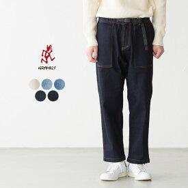 [レディス&メンズ サイズ] グラミチ デニム ルーズテーパード パンツ 2002-DEJ GUP-19F005