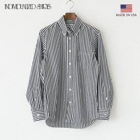 インディビジュアライズドシャツ バーバーストライプ ボタンダウンシャツ スタンダードフィット INDIVIDUALIZED SHIRTS G70EBS-L