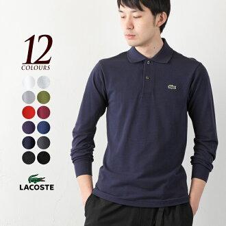 拉科斯特开领短袖衬衫长袖子日本制造rongusuribuporo长袖子马球L1312 LACOSTE