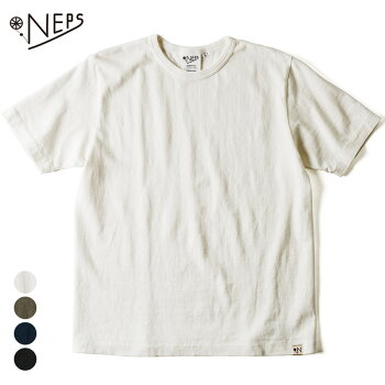 NEPS熟成綿吊り編み半袖Tシャツネップス【レビュー記入で500円クーポン対象品】