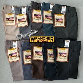 アメリカ直輸入 US ラングラー ランチャー ドレスジーンズ WRANCHER DRESS JEANS スタプレ ワークパンツ