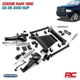 《Rough Country》02-05 ダッジラム 1500 5インチ リフトアップキット dodge ram