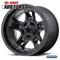 KMCXD827RS3Rockstarlll(ロックスター3)マットブラック17インチ8J1本