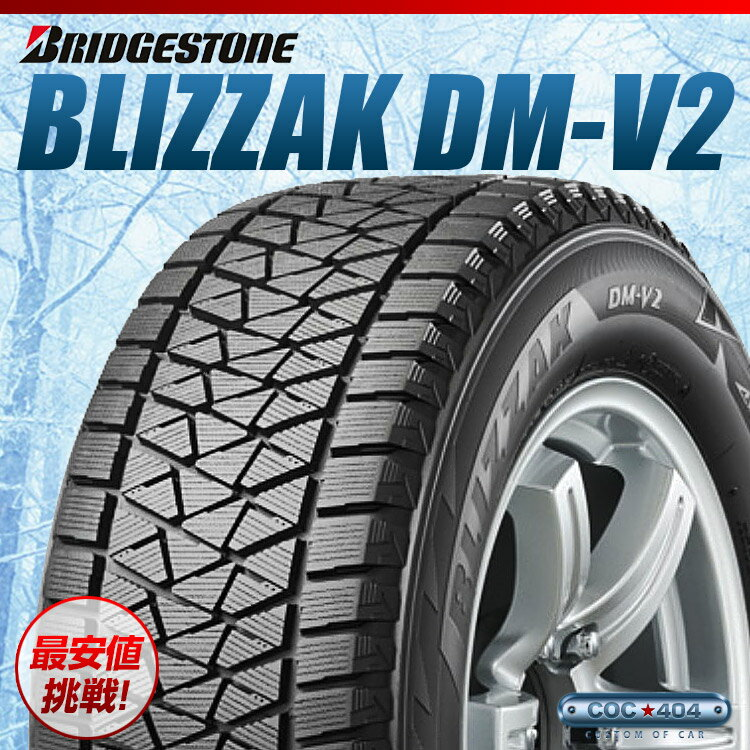 225/60-18 BRIDGESTONE Blizzak DM-V2 225/60R18 1本