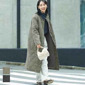 石田一帆さん小夏エミリさん羽織りアウターキルトキルティング起毛防寒ジャケット中綿ボアフゼコカCOCAcocaCOCAcoca