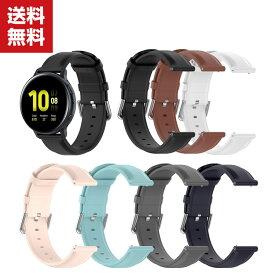 送料無料 Samsung Galaxy Watch 3 41mm 45mm 用 交換 時計バンド オシャレな 本革調レザー PUレザー 交換用 ベルト 装着簡単 便利 実用 人気 おすすめ おしゃれ ギャラクシーウォッチ バンド 交換ベルト