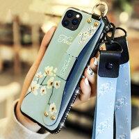 送料無料AppleiPhoneXIiPhoneXIRiPhoneXIMaxケース可愛いスタンド機能ストラップ付きストラップホール付きソフトケース型押し花柄軽量持ちやすい便利実用人気綺麗なカラフル鮮やかな多彩CASE耐衝撃強化ガラスフィルムおまけ付き