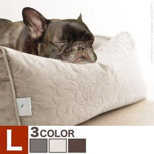 ペットベッド ドルチェ Lサイズ タオル付き ペット用ベッド ペットベット ペットマット 犬用 猫用 犬 イヌ いぬ 猫 ねこ ネコ ペット ベッド ベット クッション マット 61500015