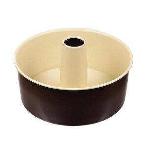 【代引き・同梱不可】 ラフィネ ふっ素加工シフォンケーキ焼型21cm D-6110