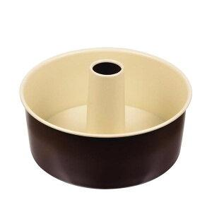 【代引き・同梱不可】 ラフィネ ふっ素加工シフォンケーキ焼型18cm D-6109