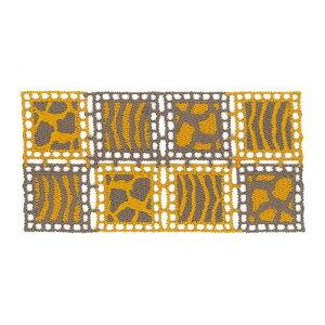 【代引き・同梱不可】 ハマナカ リッチモア アクセサリーパーツ アニマルレース H630-005-2  小物 かわいい 手芸 ニット おしゃれ 裁縫 編みこみ 手作り