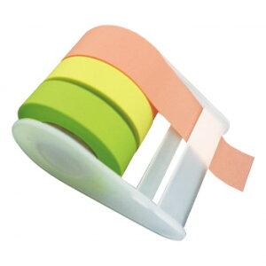 【代引き・同梱不可】 メモメモテープ 貼ってはがせる 全面粘着テープ 便利 スケジュール帳 付箋・マスキングテープ代わりに 文房具 ファイルインデックス 好きな長さにカット 整理箱・衣