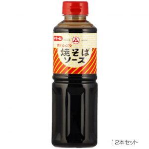 【代引き・同梱不可】 ドリーム 肉汁たっぷり 焼きそばソース 490g 12本セット