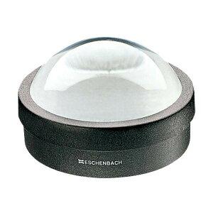 【代引き・同梱不可】 エッシェンバッハ デスクトップルーペ(ガラス) (1.8倍枠付) 1421 虫メガネ 明るい 置き型 デスク 1.8x 虫眼鏡 見やすい 拡大鏡