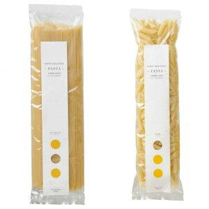 【代引き・同梱不可】 ノースファームストック 北海道産小麦のパスタ2種 スパゲティ250g/ペンネ200g 20セット 白亜ダイシン