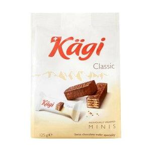 【代引き・同梱不可】 Kagi(カーギ) チョコウエハース ミニミルクバッグ 125g×12袋 スイーツ チョコレート おやつ スイス お菓子 チョコレート菓子 食品 ウエハース