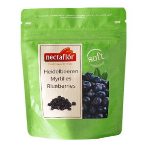 【代引き・同梱不可】 スイス nectaflor ネクターフロー ソフトフルーツ ブルーベリー 80g 14袋セット