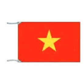 【代引き・同梱不可】 テトロン製旗(単体) ベトナム 70×105cm 051017002
