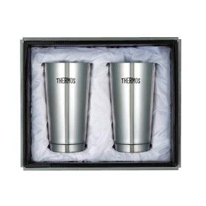 【代引き・同梱不可】 THERMOS サーモス 真空断熱タンブラー 2Pセット JMO-GP2 コップ マグカップ マグ ビールグラス お酒 保冷 保温 ティー お茶 コーヒー