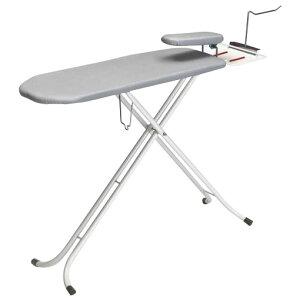 【代引き・同梱不可】 スタンドタイプ 仕上馬付 アイロン台(ハンガーフック付) NSB-5HF 床 椅子 調整 コンパクト 便利 収納 スタンド式 3WAY