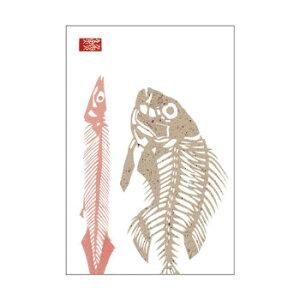 【代引き・同梱不可】 魚魚だより たい・さんま骨 5個セット PC106
