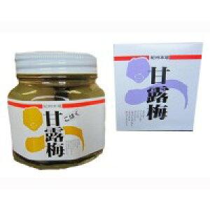 【代引き・同梱不可】 プラム食品 甘露梅(無着色) こはく 360g 3個セット