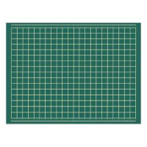 【代引き・同梱不可】 セントラル 大〜きなカッティングマット 1200×900×3mm XL-2 カッターマット 保護 ビニール 下敷き 特大 表裏 作業台 緑 両面