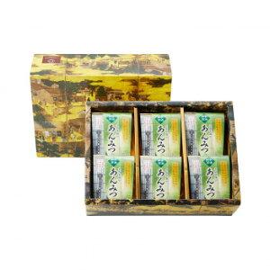 【代引き・同梱不可】 つぼ市製茶本舗 宇治抹茶あんみつ詰め合わせ UAM-6 179g×6個