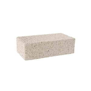【代引き・同梱不可】 久保田セメント工業 コンクリートレンガ ノルディーブリック グラニューホワイト 4個セット 2022151