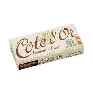 【代引き・同梱不可】 コートドール タブレット・ビターチョコレート 12個入り ギフト ベルギー 洋菓子 贈り物 高級 ヨーロッパ