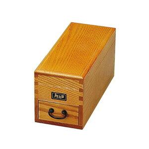 【代引き・同梱不可】 ヤマコー ケヤキ風鰹節削箱 (単箱入) 87480