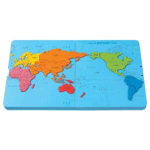 【代引き・同梱不可】 KUMON くもん くもんの世界地図パズル PN-21 5歳以上