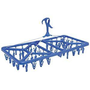 【10個セット】 洗濯ハンガー/ピンチハンガー 【幅76.5cm】 52ピンチ 折りたたみ 『オーエ マイランドリー2 スーパージャンボ』【日時指定不可】