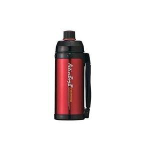 【20個セット】 魔法瓶構造 スポーツボトル/水筒 【保冷専用 レッド】 1L 直飲みタイプ ハンドル付き 『アクティブボーイ2』【日時指定不可】