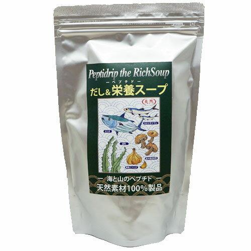 天然ペプチドリップ だし&栄養スープ 500g(千年前の食品舎)
