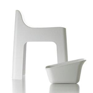 風呂椅子 【選べる特典付き】 バスチェア レットー RETTO ハイチェア 湯手おけスクエア セット ホワイト ブラック 日本製 風呂椅子 風呂いす バス用品 お風呂グッズ 便利 シンプル 白 黒 おし