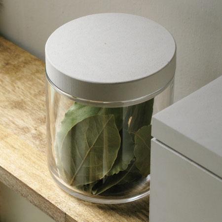 soil フードコンテナ ガラス (ソイル キャニスター コンテナー 保存容器 珪藻土 調湿)