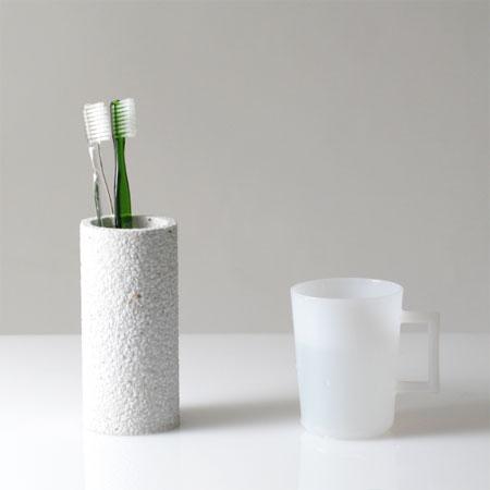 soil 歯ブラシスタンド(ソイル 歯ブラシ立て 歯ブラシスタンド soil 珪藻土 調湿)