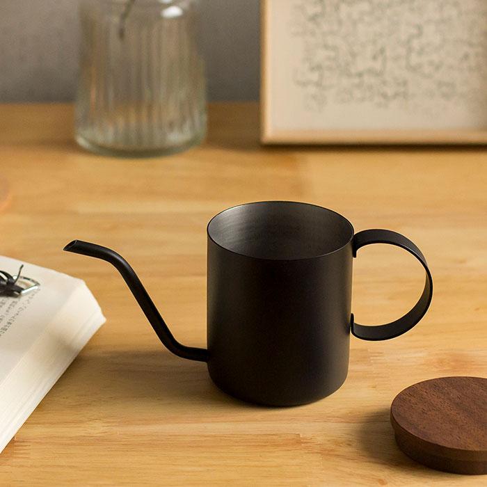 ドリップポット 約200ml ハンドドリップ コーヒー 珈琲 日本製 ワンドリップポット one drip pote ブラック