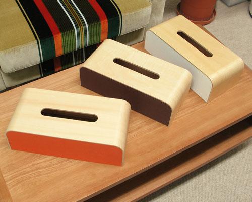 COLOR BOX ティッシュケース(カラーボックス ティッシュケース ティッシュカバー 収納BOX 収納ボックス)
