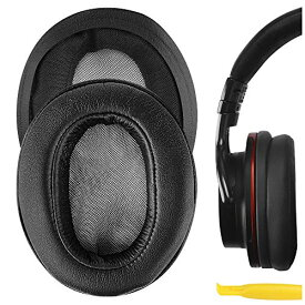 Geekria イヤーパッド Sony ソニー MDR-1ABT, MDR-1RBT, MDR-1RNC 等 ヘッドセット に対応 交換用 ヘッドホンパッド イヤークッション