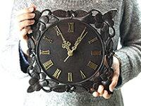 木製時計プルメリアのサイズ
