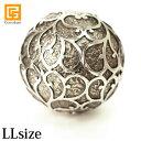 ガムランボール ARABESUQUE antique(LL)※シルバークロス付き◆  【 特大 大きい マッサージボール ヒーリングボール…